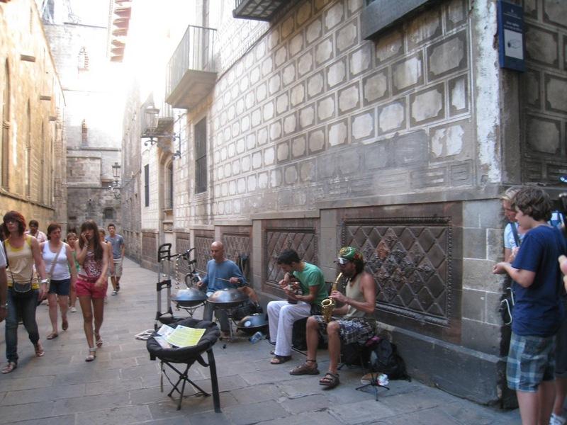 סיור ברובע הגותי (Barri Gotic) ברצלונה