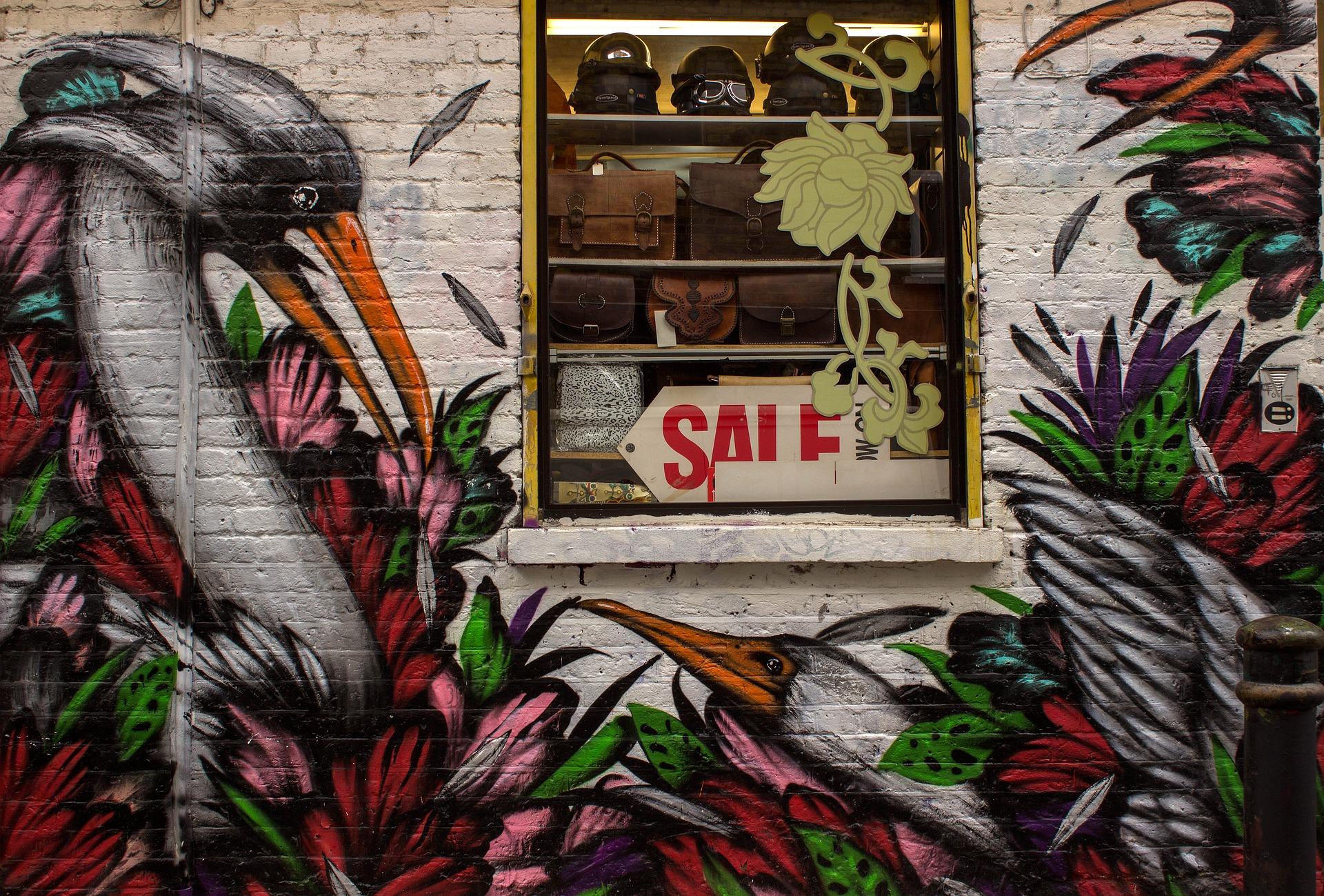 אמנות הרחוב בשכונת שורדיץ' - לונדון