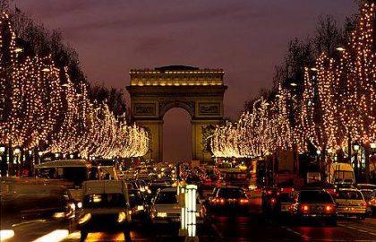 חג המולד בפריז