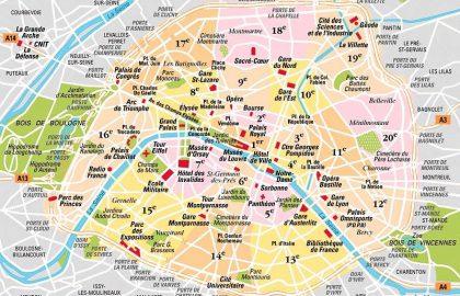 המלצות למגורים בפריז