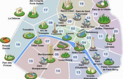 איפה לגור בפריז?