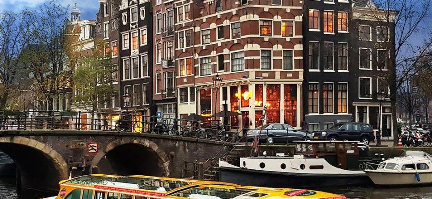 סיור בתעלות אמסטרדם