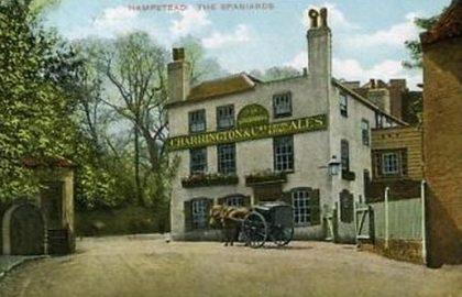 פסק זמן כפרי בתוך העיר – שכונת המפסטד בלונדון