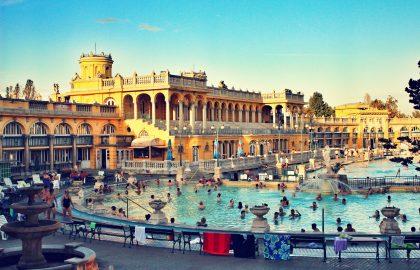 חם גם בחורף – סצינת המרחצאות בבודפשט