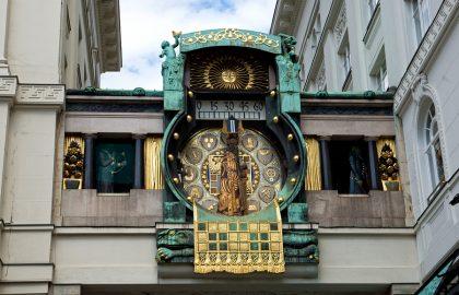 Vienna Anker Clock השעון העתיק והקסום של וינה
